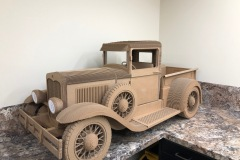"10-019 David Bahr - Twin Falls, ID Category – Sculpture, Over 3ft Ford Box Truck 60"" x 36"" x 30"""