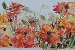 "10-080 Elizabeth LaRowe - Red Lodge, MT Category – Watermedia Color of Summer 12"" x 20"""