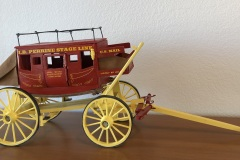 "10-136 Bill Sargent - Kimberly, ID Category – Woodwork Perrine Stagecoach 10"" x 24"""
