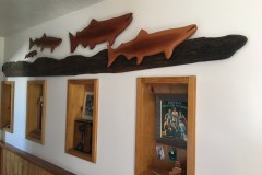 10-071 Tim Olmstead - Twin Falls, ID Category – Woodwork Fish 6' x 18""